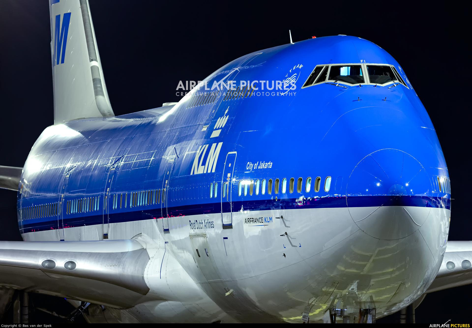 KLM PH-BFI aircraft at Amsterdam - Schiphol