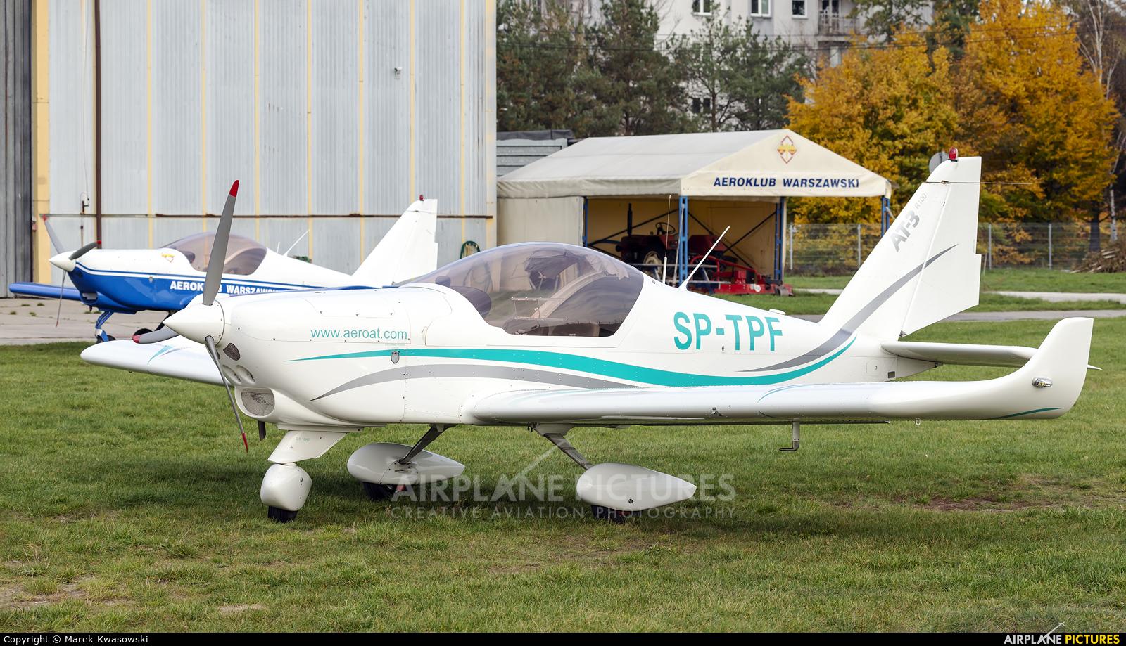 Aeroklub Warszawski SP-TPF aircraft at Warsaw - Babice