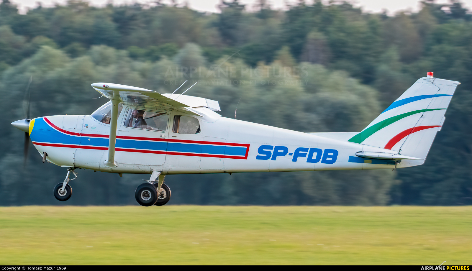 Private SP-FDB aircraft at Rybnik - Gotartowice