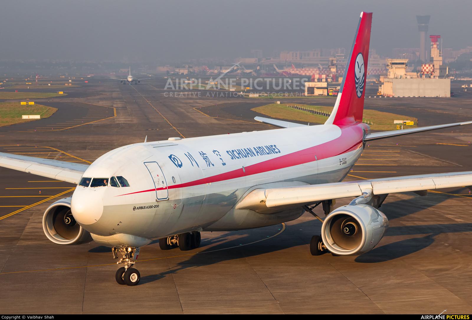 Sichuan Airlines  B-308Q aircraft at Mumbai - Chhatrapati Shivaji Intl