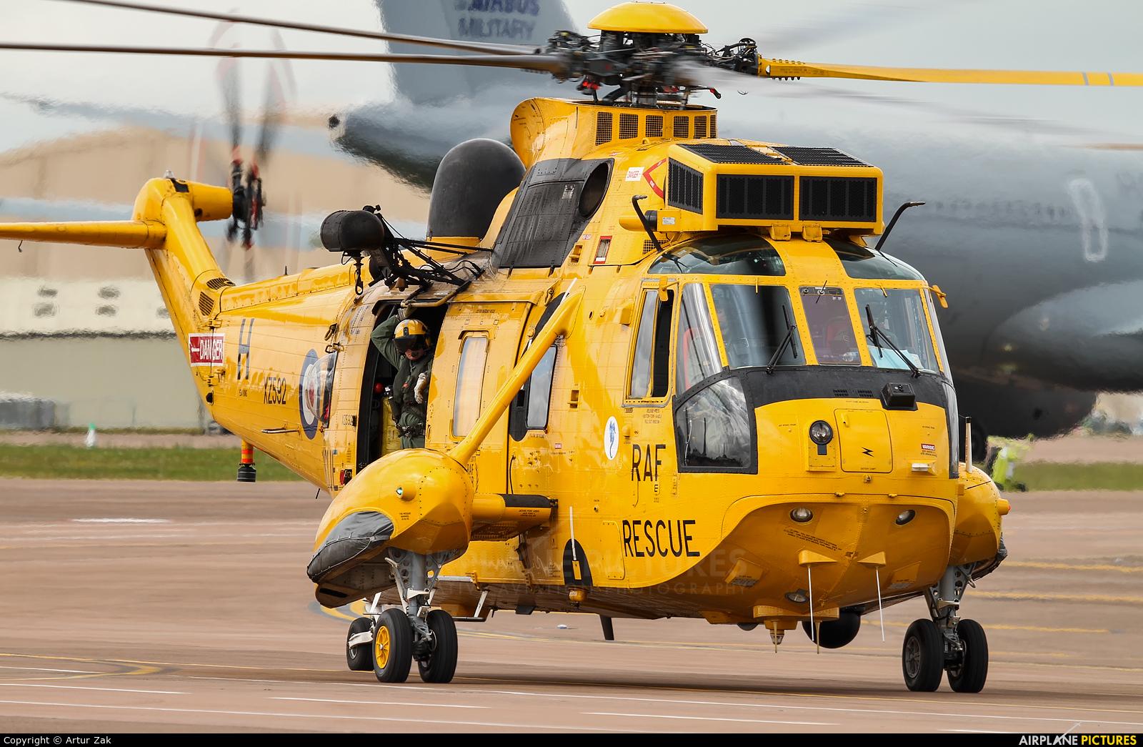 Royal Air Force XZ592 aircraft at Fairford
