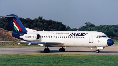 HA-LMD - Malev Fokker 70