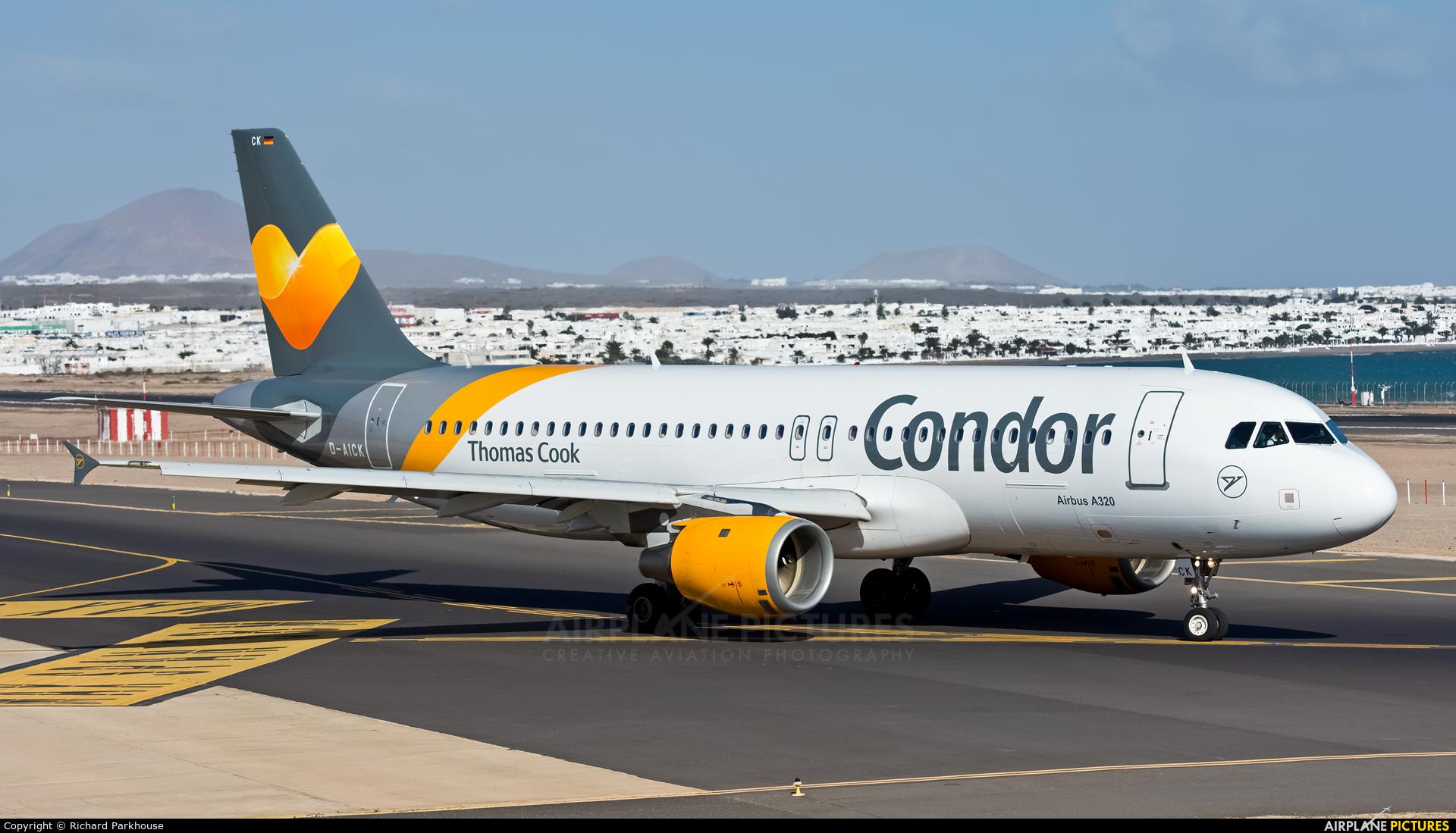 Condor D-AICK aircraft at Lanzarote - Arrecife
