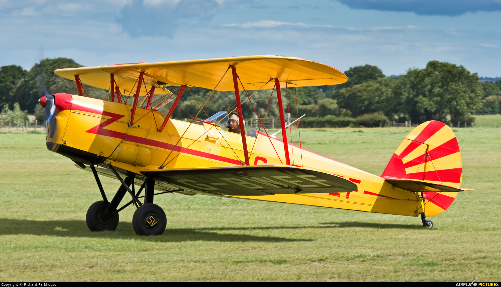 Private G-BWEF aircraft at Lashenden / Headcorn