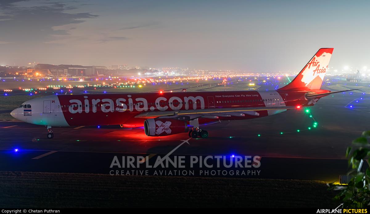 AirAsia X HS-XTC aircraft at Mumbai - Chhatrapati Shivaji Intl