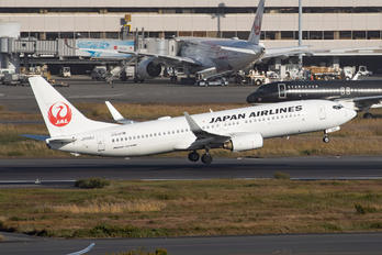 JA336J - JAL - Japan Airlines Boeing 737-800