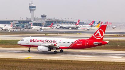 TC-AGU - Atlasglobal Airbus A320