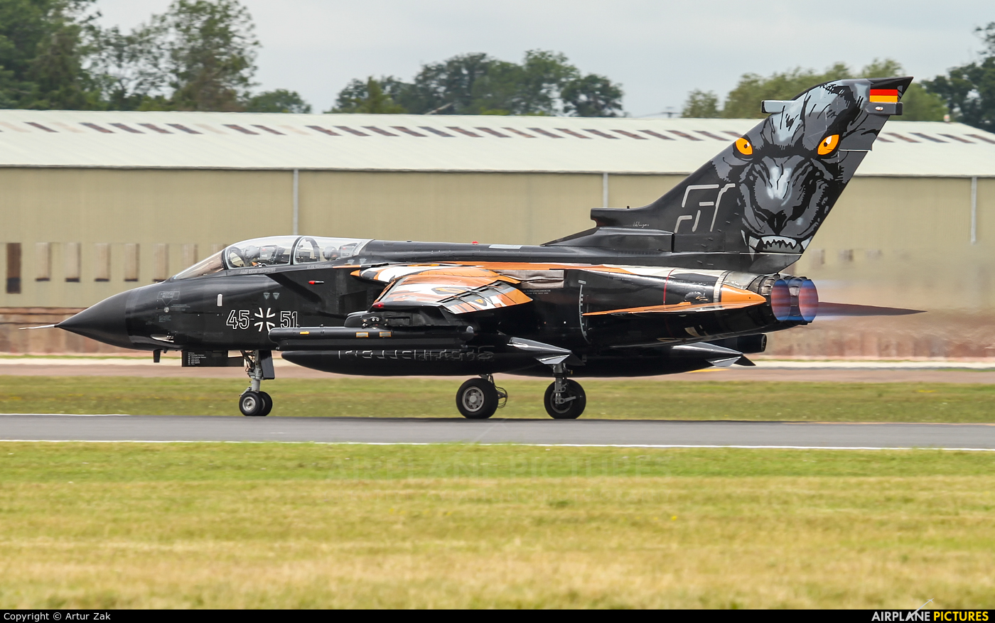 Germany - Air Force 45+51 aircraft at Fairford