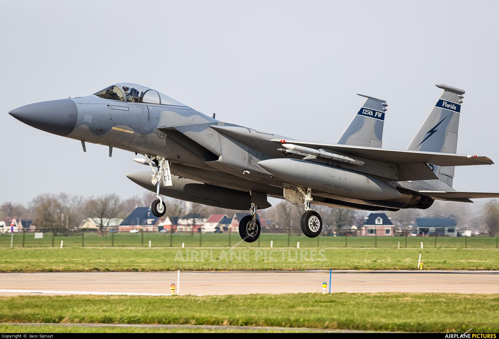 USA - Air National Guard 86-0155 aircraft at Leeuwarden