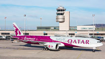 New special scheme on Qatar 777 promoting FIFA 2020 World Cup title=