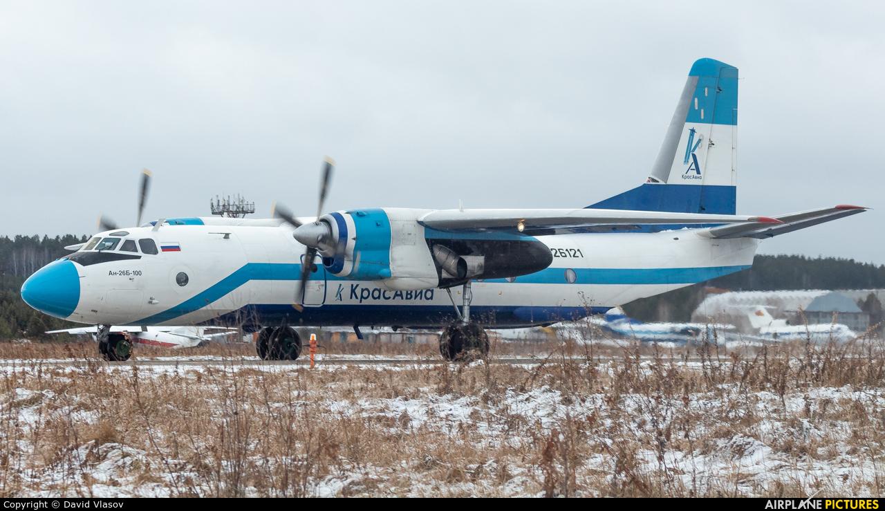 KrasAvia RA-26121 aircraft at Krasnoyarsk - Cheremshanka