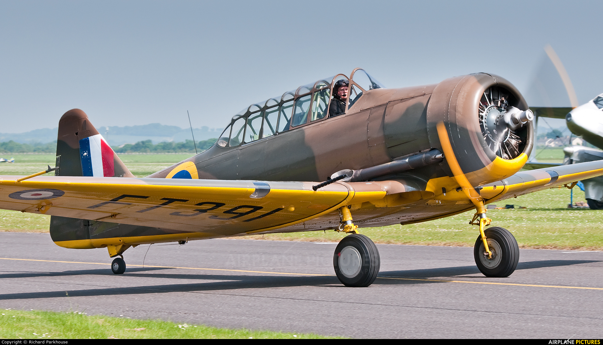 Private G-AZBN aircraft at Duxford