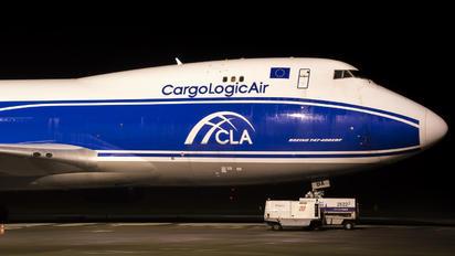 G-CLBA - Cargologicair Boeing 747-400F, ERF
