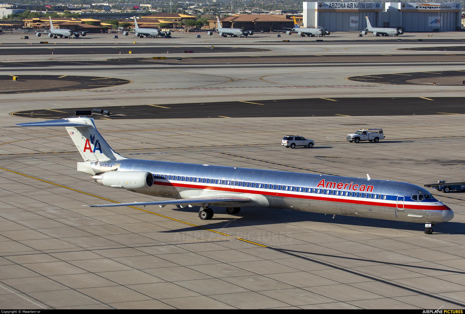 American Airlines N491AA aircraft at Phoenix - Sky Harbor Intl