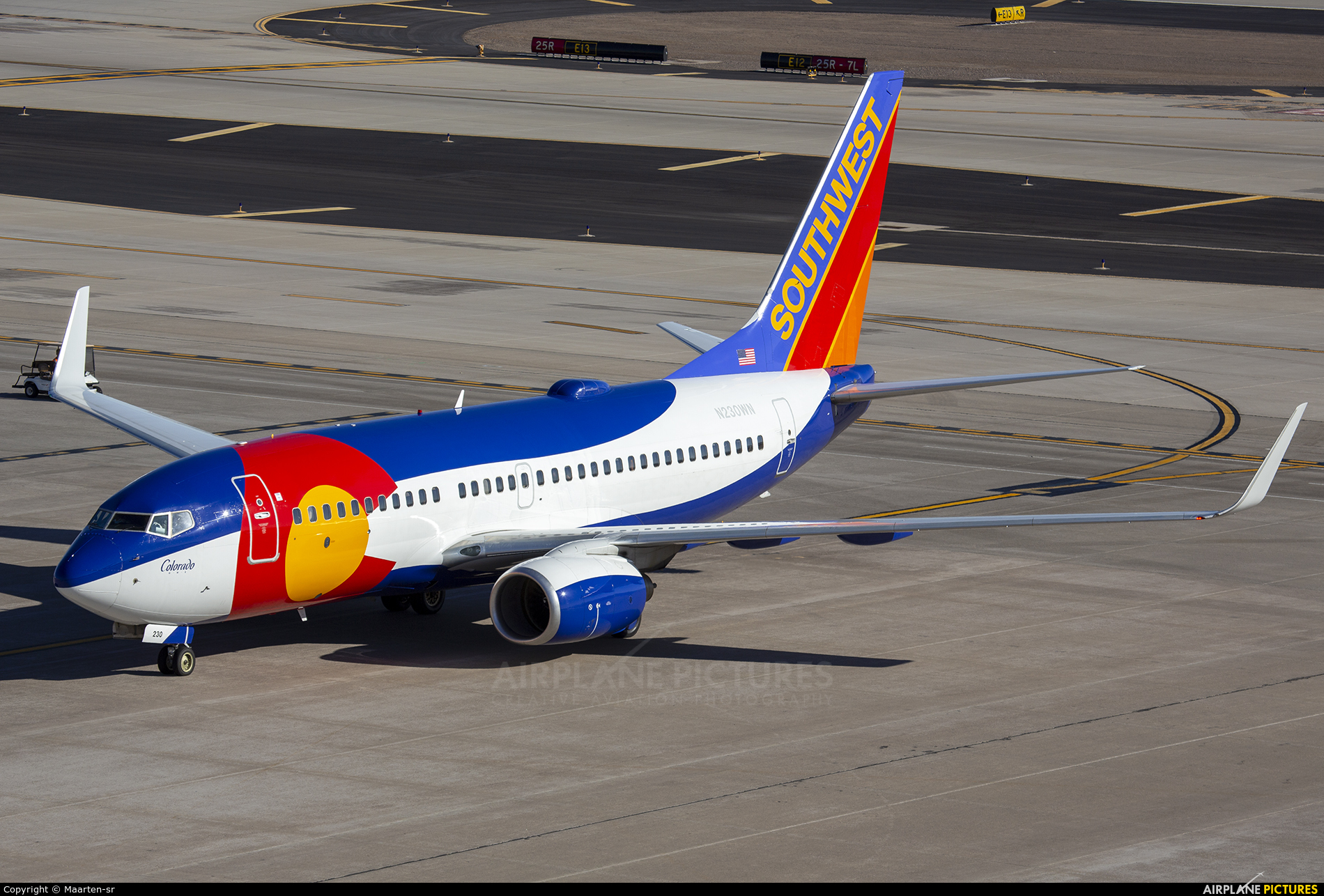 Southwest Airlines N230WN aircraft at Phoenix - Sky Harbor Intl