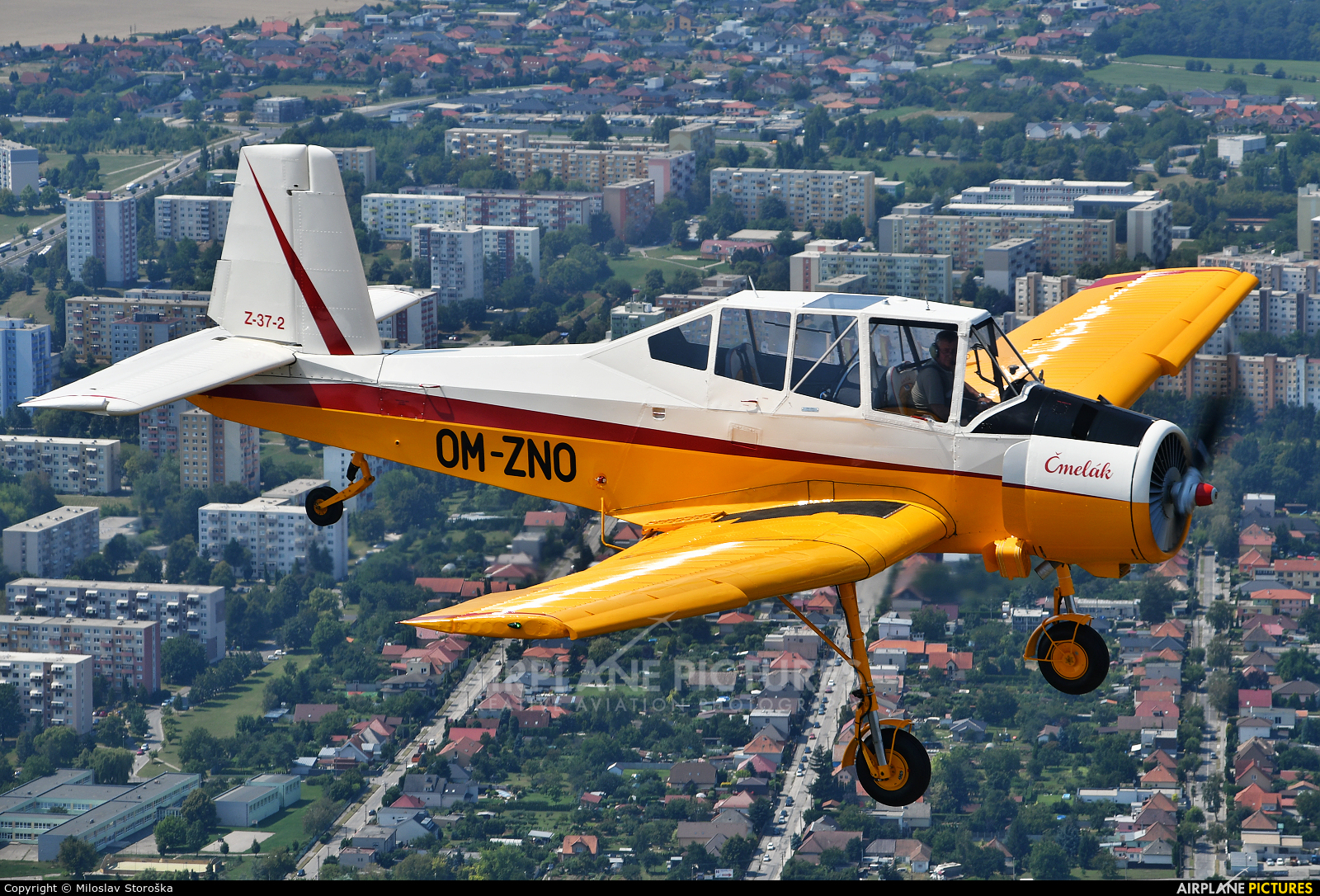 Private OM-ZNO aircraft at In Flight - Slovakia