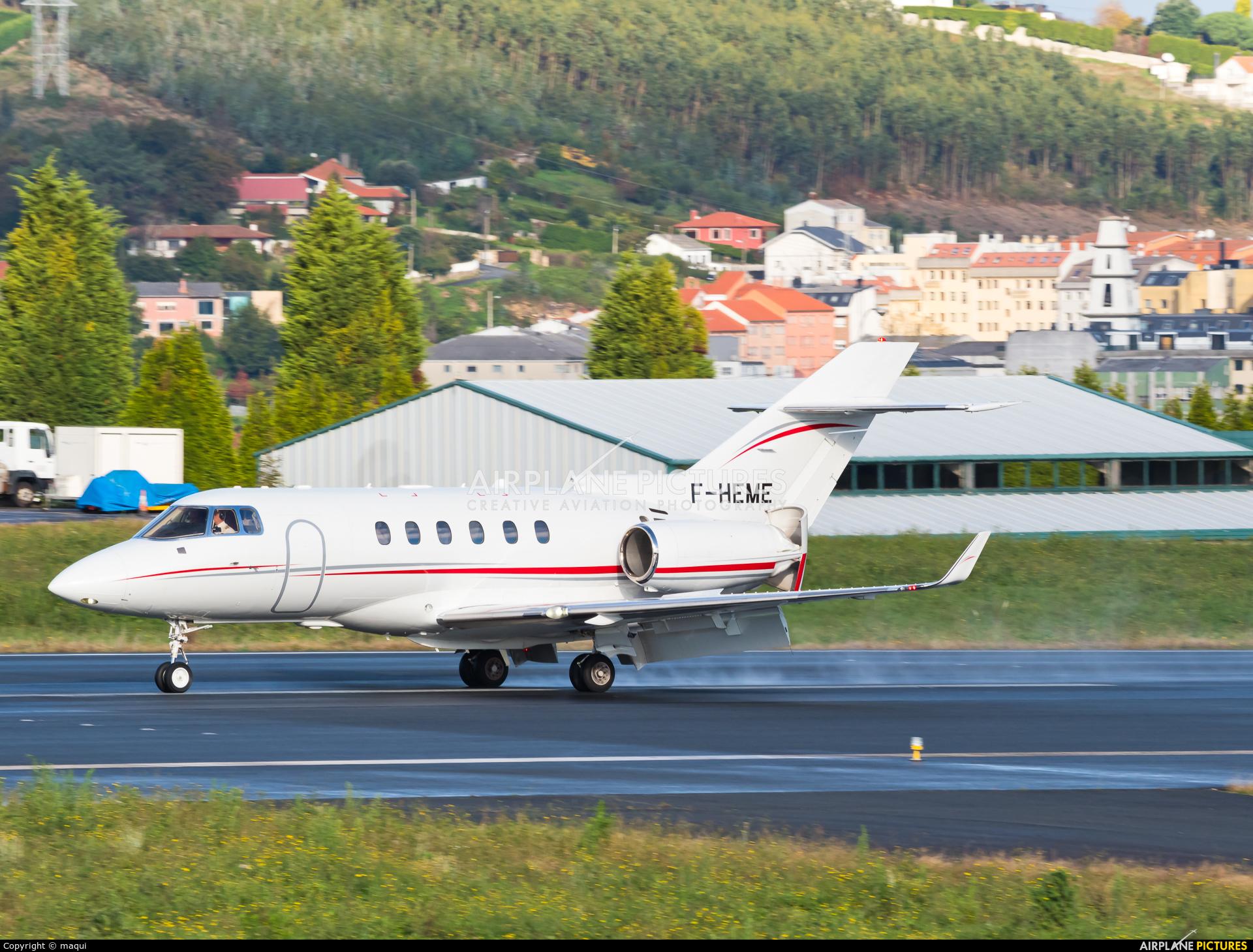Valljet F-HEME aircraft at La Coruña