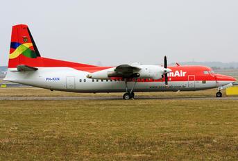 PH-KXN - OceanAir Fokker 50
