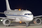 Rare visit of K5 Aviation A319 to Tenerife Reina Sofia title=