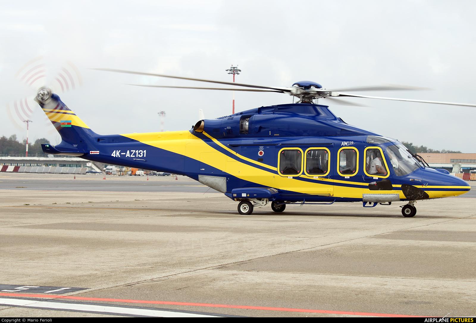 Silk Way Helicopter Services 4K-AZ131 aircraft at Milan - Malpensa