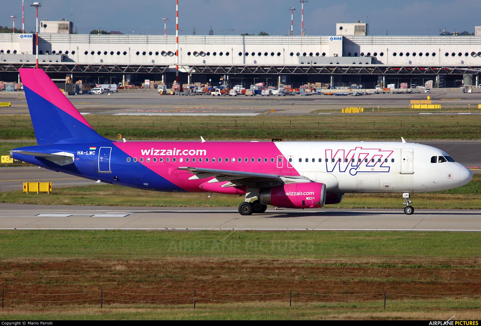 Wizz Air HA-LWC aircraft at Milan - Malpensa