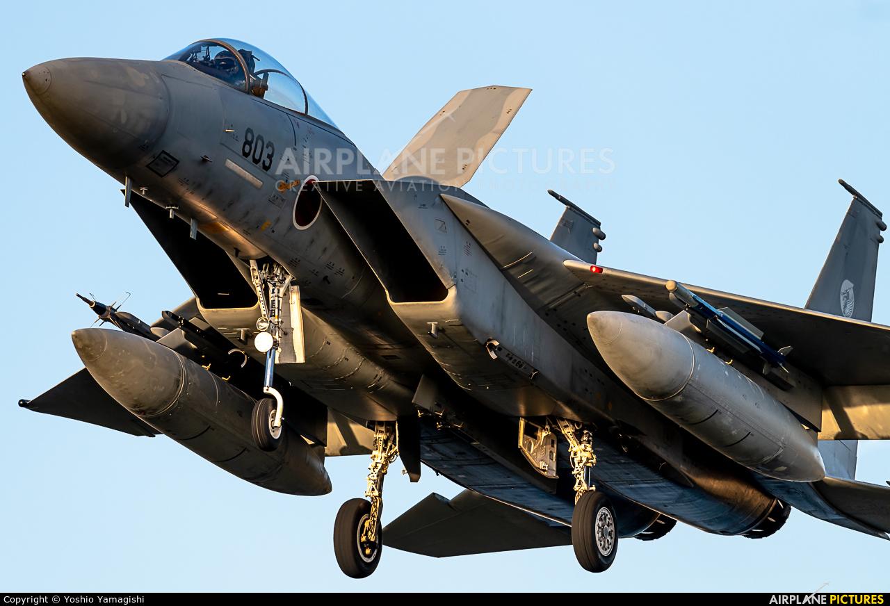 Japan - Air Self Defence Force 12-8803 aircraft at Komatsu