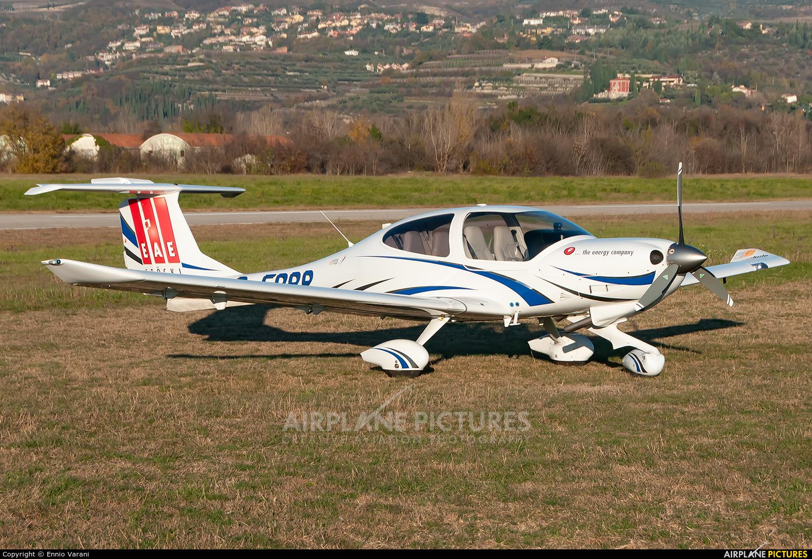 Private D-ERRP aircraft at Verona - Boscomantico