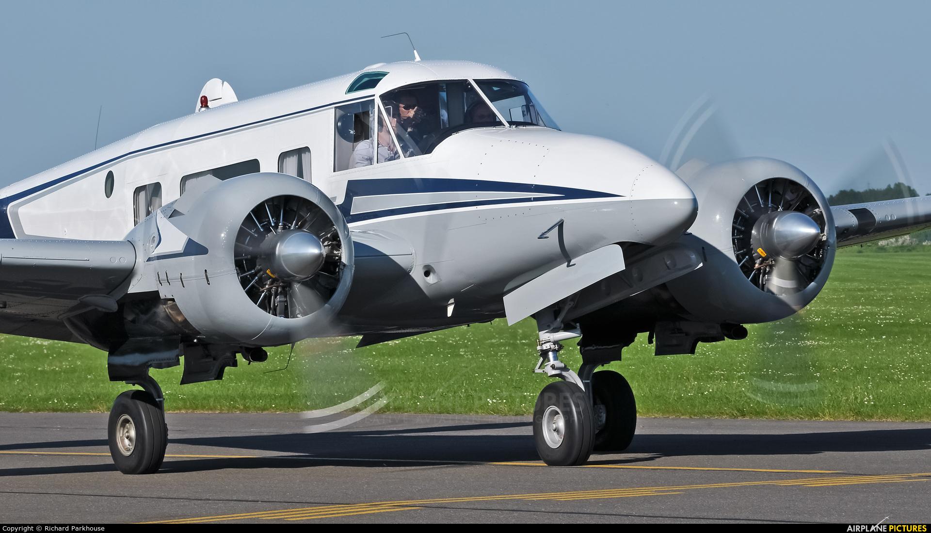 Private N663TB aircraft at Duxford