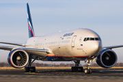 Aeroflot Boeing 777 visited Prague as a covid-cargo flight title=