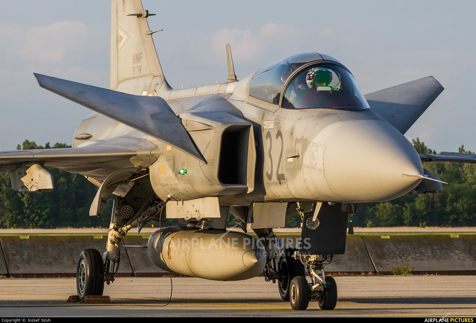 Hungary - Air Force 32 aircraft at Kecskemét