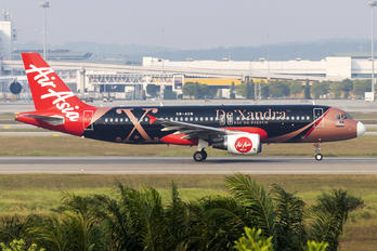 9M-AQM - AirAsia (Malaysia) Airbus A320
