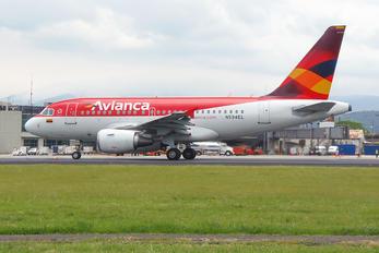 N594EL - Avianca Airbus A318