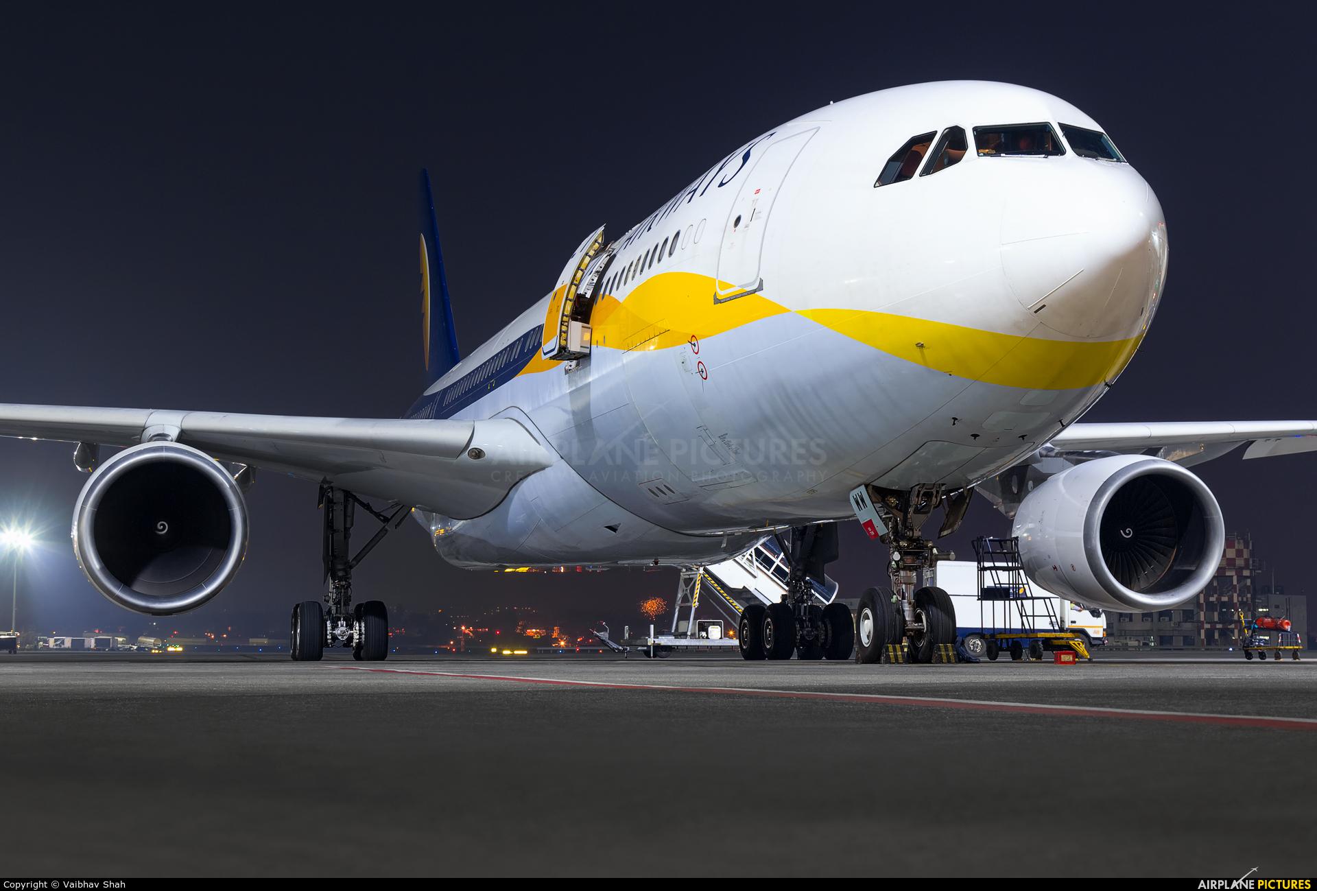 Jet Airways VT-JWW aircraft at Mumbai - Chhatrapati Shivaji Intl