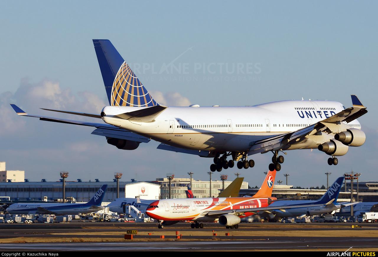 United Airlines N122UA aircraft at Tokyo - Narita Intl