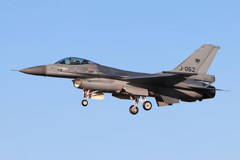 J-062 - Netherlands - Air Force General Dynamics F-16A Fighting Falcon