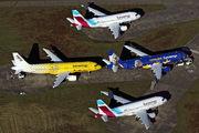 D-ASTX - Eurowings Airbus A319 aircraft