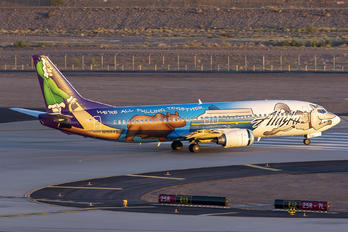 N705AS - Alaska Airlines Boeing 737-400