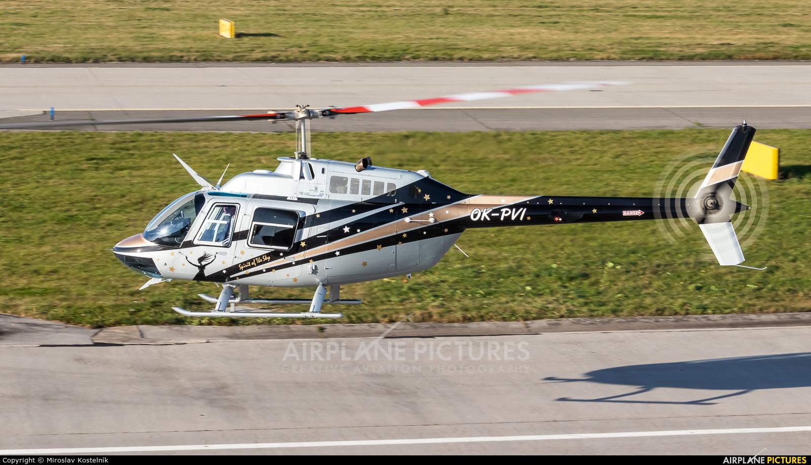 Private OK-PVI aircraft at Ostrava Mošnov