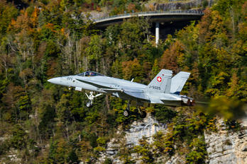 J-5025 - Switzerland - Air Force McDonnell Douglas F/A-18C Hornet