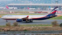 Aeroflot Airbus A330 visited Madrid title=