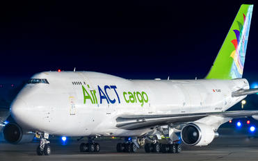 TC-ACF - ACT Cargo Boeing 747-400BCF, SF, BDSF