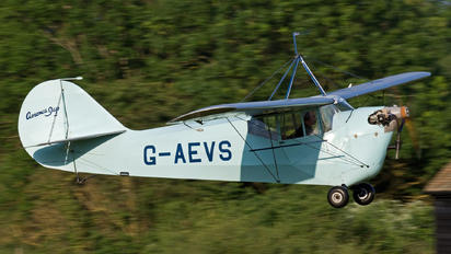 G-AEVS - Private Aeronca Aircraft Corp 100