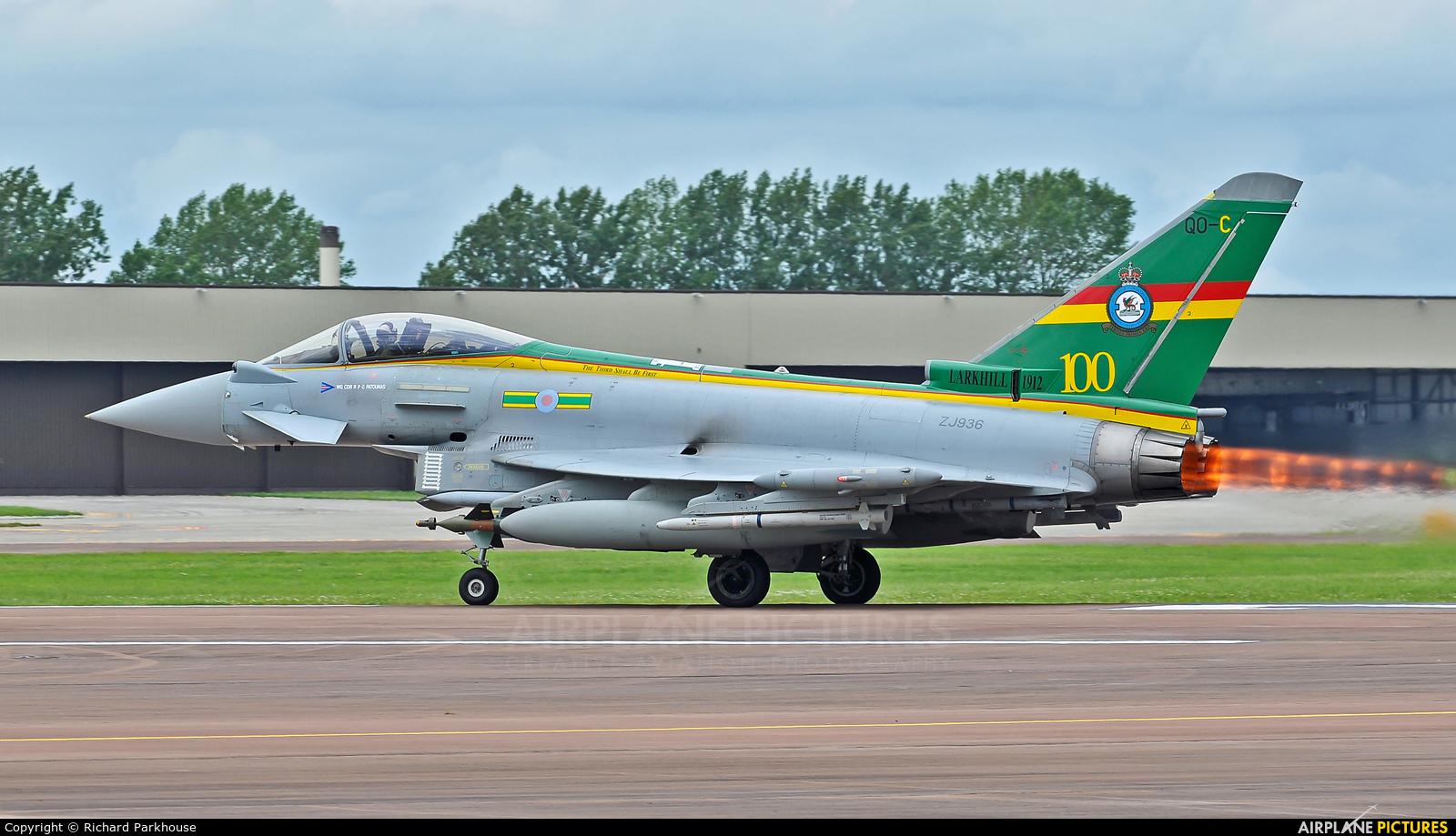 Royal Air Force ZJ936 aircraft at Fairford