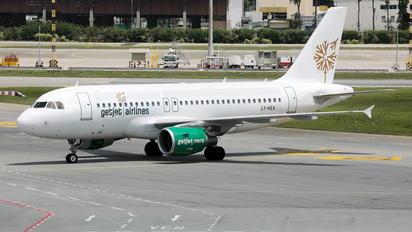 LY-KEA - GetJet Airbus A319