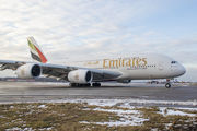 A6-EVG - Emirates Airlines Airbus A380 aircraft