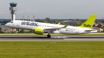YL-AAQ - Air Baltic Airbus A220-300 aircraft