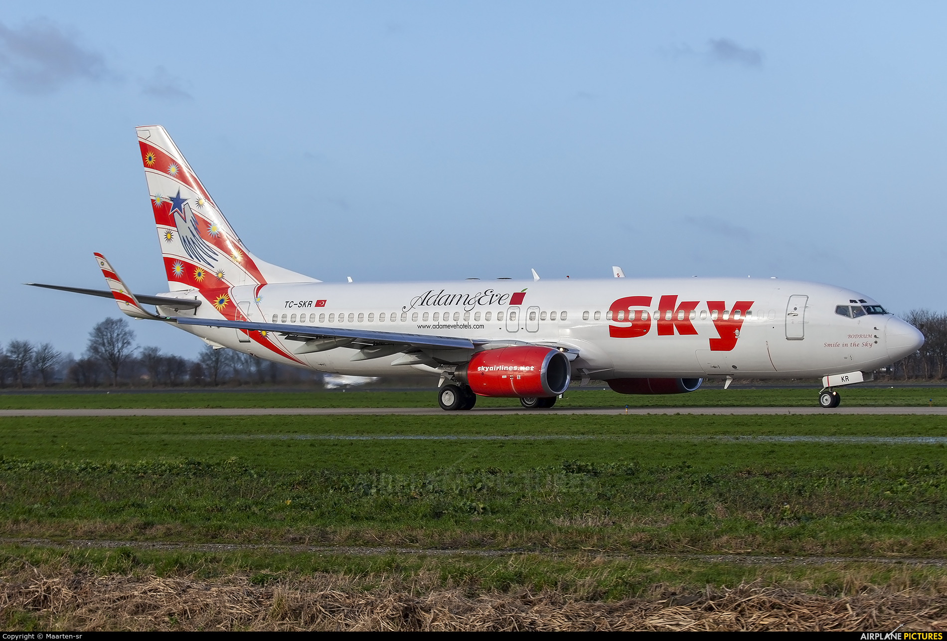 Sky Airlines (Turkey) TC-SKR aircraft at Rotterdam