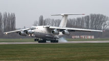 Rare visit of RubyStar Il-76TD to Pardubice title=