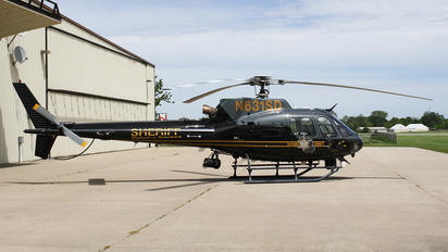N631SD - Police Aviation Services Eurocopter AS350B3