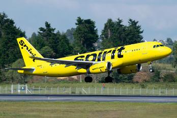 N618NK - Spirit Airlines Airbus A320